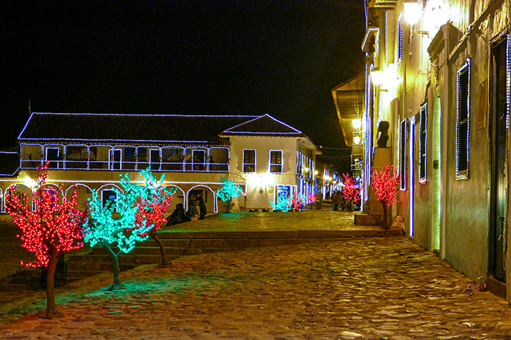 Christmas tour Boyacá Colombia
