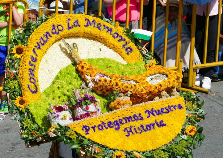 The mind-blowing festival of the flowers in Medellin Colombia