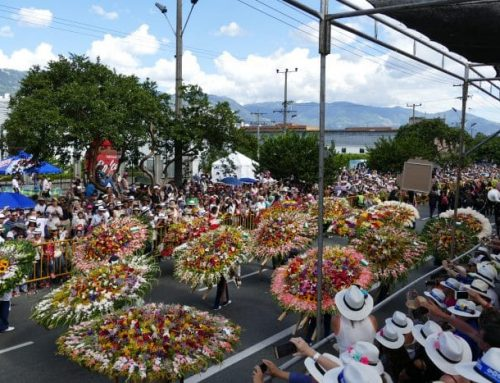 Visiting Medellin and the Festival of the flowers