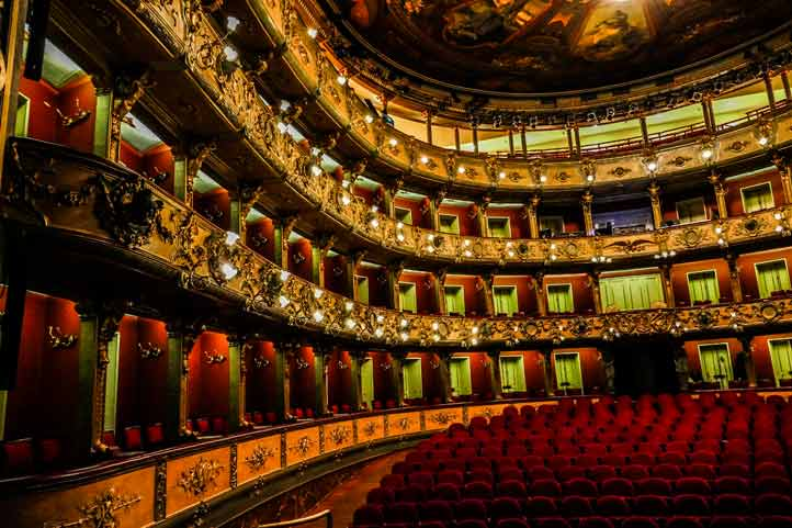Colon Theatre Bogota inside