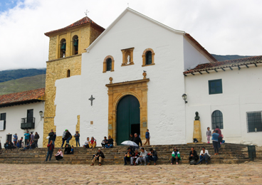Church Villa de Leyva Boyaca Colombia