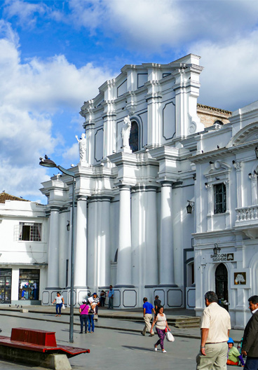 Cathedral Basilica of Our Lady of the Assumption Popayan Colombia
