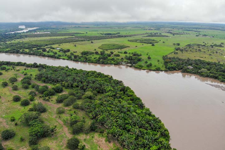 River in Casanare Colombia