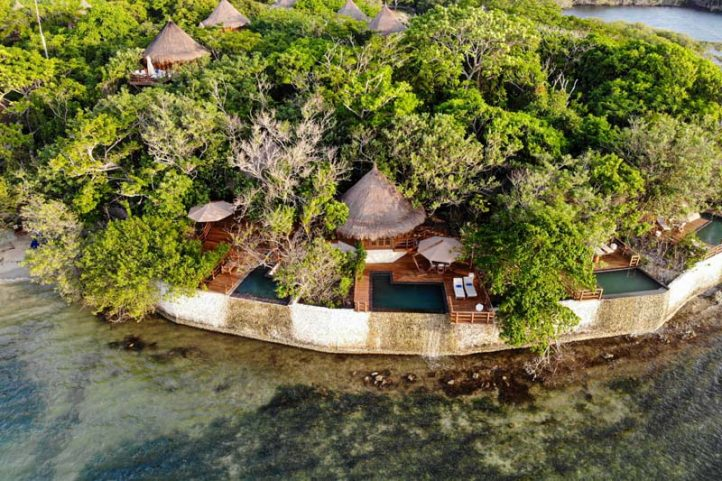 Dron Photo of Hotel Las Islas