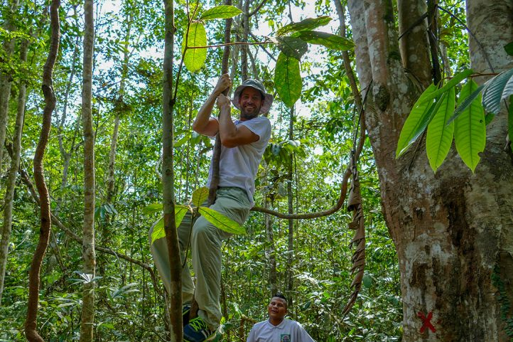 Adventure in the Amazon Jungle of Colombia