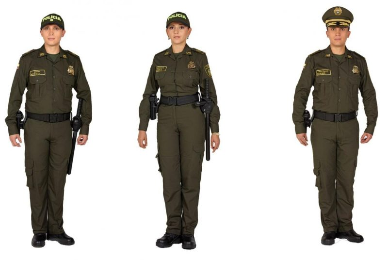 Colombian National Police Uniform