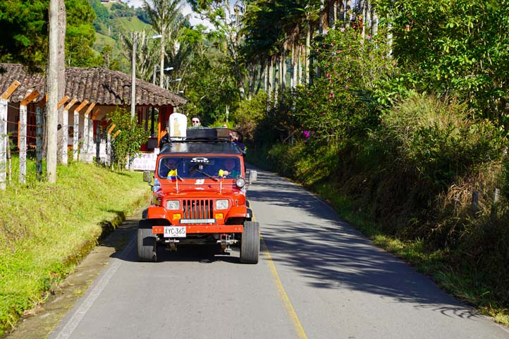 Transportation system in Quindio