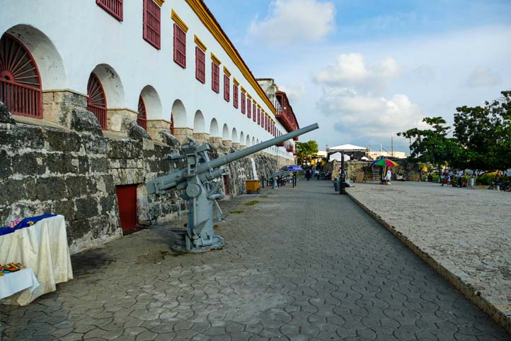 Facade of the Naval Museum of Cartagena