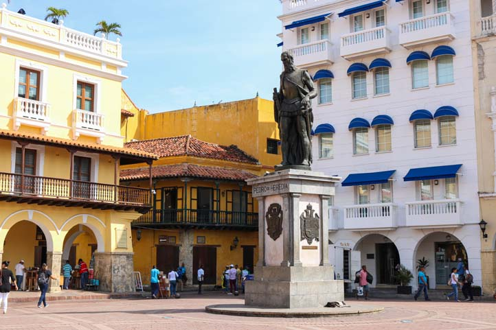 Plaza de los Coches in Cartagena