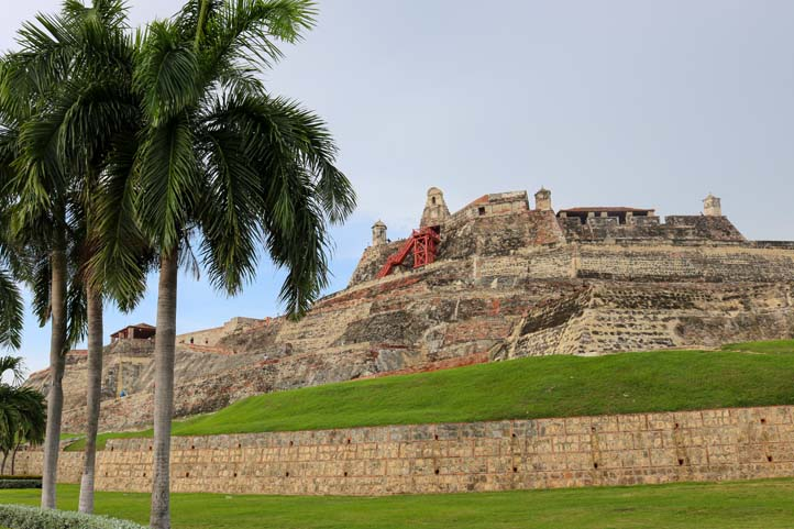 Bastion of Santa Catalina in Cartagena