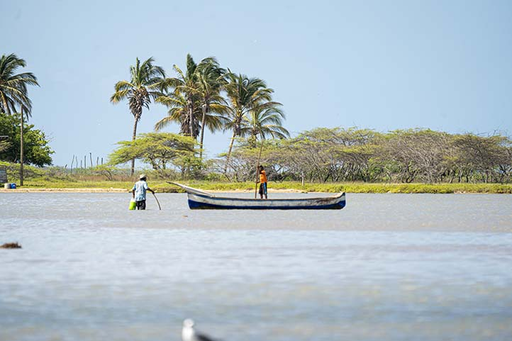 Fishing boat in La Guajira