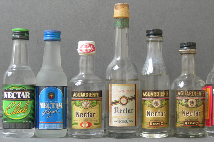 Alcohol drinks from Colombia