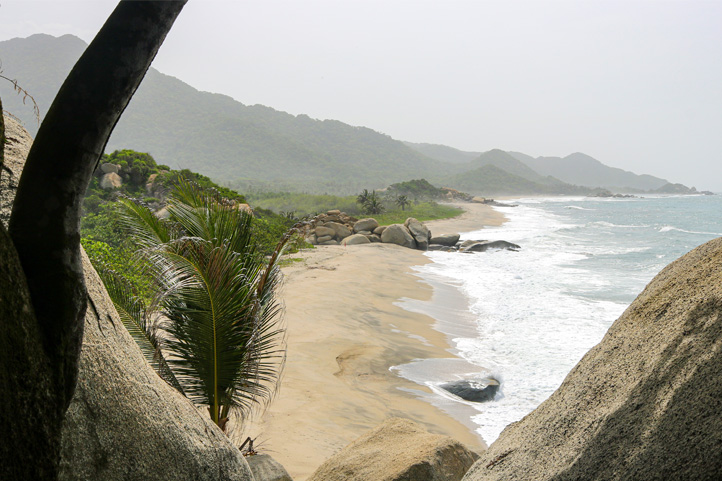 Hiking in Tayrona Park